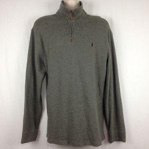 Polo Ralph Lauren Mens 1/2 Zip Pullover Sweatshirt